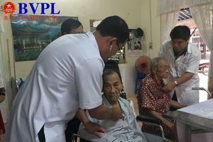 Bộ đội Biên phòng khám, phát thuốc miễn phí cho cựu chiến binh