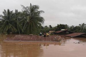 Chính phủ Lào thông tin chính thức về vụ vỡ đập thủy điện