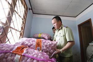 Lâm Đồng: Thu giữ gần 4 tấn cà rốt và 2 tạ tỏi Trung Quốc nhập lậu
