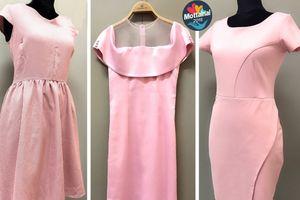 Váy liền màu hồng khiến bạn thêm yêu kiều
