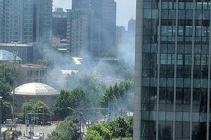 Nổ lớn gần Đại sứ quán Mỹ ở Trung Quốc