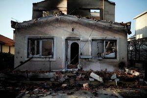 Cảnh tang thương rợn người sau thảm họa cháy rừng Hy Lạp