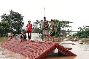 Các nước cử đội cứu hộ và viện trợ cho Lào khắc phục sự cố vỡ đập