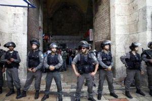 Cảnh sát Israel phong tỏa lối vào đền thờ Hồi giáo Al-Aqsa