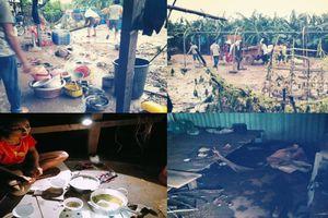 Cảnh hoang tàn tại nơi ở của người Việt sau thảm họa vỡ đập thủy điện ở Lào