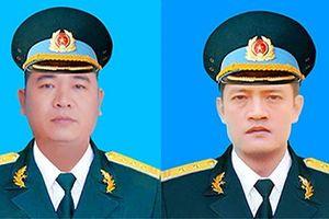Bộ trưởng Bộ Quốc phòng truy thăng quân hàm cho hai phi công Su-22
