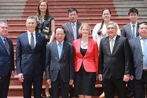 Việt Nam - New Zealand thúc đẩy hợp tác phòng, chống tội phạm