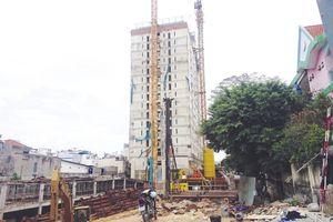 Đình chỉ hoạt động kinh doanh 12 tháng đối với chủ đầu tư dự án Tân Bình Tower