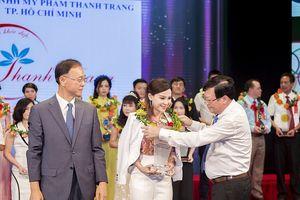 Mỹ phẩm Thanh Trang đạt giải `Sen Vàng Quốc tế Nghệ thuật làm đẹp`