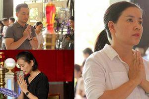 Sao Việt nghẹn ngào đến viếng lễ tang của nghệ sĩ Thanh Hoàng
