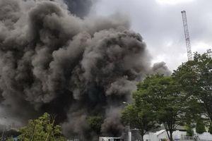 Cháy lớn tại công trình xây dựng ở Nhật, 5 người chết, 40 người bị thương