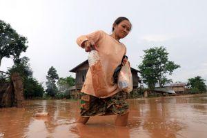 Từ Attapeu: 'Chúng tôi bỏ cơm để chạy cơn đại hồng thủy'