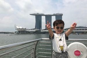 Làm thủ tục thế nào để đưa con đi du lịch Singapore?