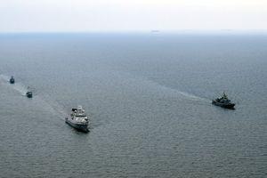 Hải quân Ukraine và NATO tham gia tập trận Passex trên Biển Đen