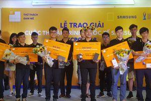 9 sinh viên Việt Nam đạt điểm tuyệt đối cuộc thi Lập trình quốc tế Samsung