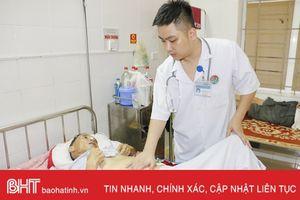 Mỗi năm, gần 400 bệnh nhân ung thư gan điều trị tại BVĐK Hà Tĩnh
