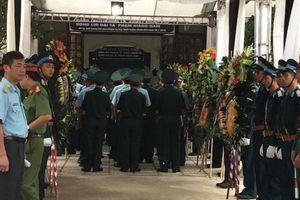 Lễ truy điệu hai phi công hy sinh trong vụ máy bay Su – 22U rơi ở Nghệ An