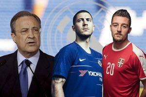 Perez ra tay, Real đón cả Hazard và Savic