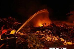 Tiểu thương thiệt hại nặng nề trong vụ cháy chợ Gạo tại Hưng Yên