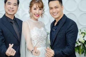 Dàn sao đến chúc mừng Việt Anh và Quế Vân ra mắt dự án mới