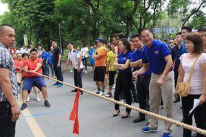 1.000 vận động viên tham gia Hội khỏe thanh niên Thủ đô
