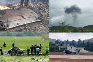 Những sự cố rơi máy bay quân sự trong những năm gần đây ở Việt Nam