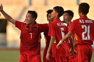 U16 Việt Nam thắng vất vả U16 Campuchia tại VCK U16 Đông Nam Á