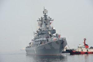 Nga đóng tàu khu trục nguyên tử mới