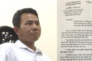 Lý do gần 300 giáo viên hợp đồng ở Hà Nội có nguy cơ mất việc