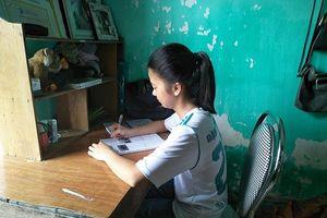 Nghị lực của cô bé nhà nghèo Đặng Thị Thương