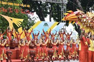 Lễ hội đường phố kỷ niệm 10 năm Hà Nội mở rộng
