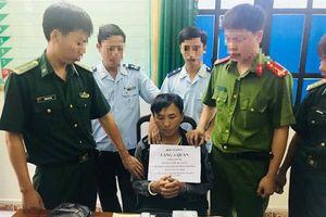Hải quan Hà Tĩnh phối hợp thu giữ 1 bánh heroin