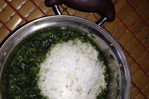 Cư dân mạng tranh luận về mâm cơm cữ 'cơm thừa canh cặn'
