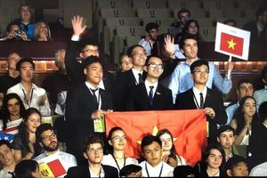 Học sinh Việt Nam tiếp tục thắng lớn tại Olympic Vật lý Quốc tế 2018