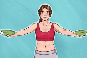 7 bài tập đơn giản giúp cánh tay thon gọn và vòng 1 săn chắc