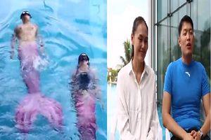Chồng quyết tâm trở thành giáo viên bơi lội giúp vợ giảm 16kg và thoát khỏi trầm cảm sau sinh