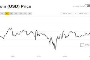 Giá Bitcoin hôm nay 29/7: Cuối tuần tăng nhẹ