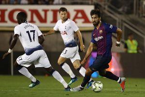 Vắng Messi, Barca hạ Tottenham sau màn 'đấu súng'
