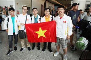 Việt Nam đạt thứ hạng cao tại Olympic Vật lí Quốc tế 2018
