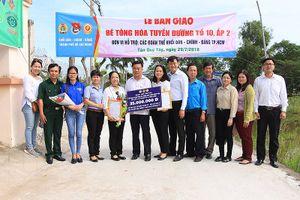 360 triệu đồng đóng góp xây dựng nông thôn mới ở Bình Chánh