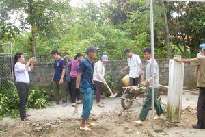Nghi Xuân - Hà Tĩnh: Xây dựng nhà tình nghĩa giúp hộ nghèo