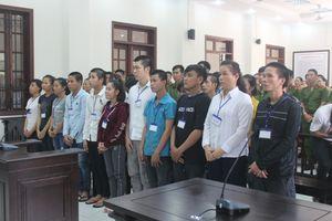 Xét xử 20 bị cáo về tội gây rối trật tự công cộng tại Biên Hòa