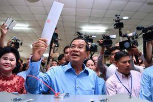 Campuchia: Đảng CPP của Thủ tướng Hun Sen thắng áp đảo trong bầu cử Quốc hội khóa VI