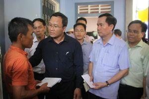 Quảng Trị: Ủy ban ATGT Quốc gia thăm hỏi, hỗ trợ gia đình các nạn nhân thương vong do TNGT