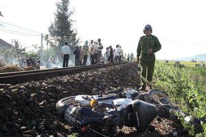 Tai nạn đường sắt, hai vợ chồng tử vong