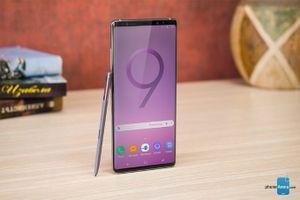 Rò rỉ mô hình Galaxy Note 9