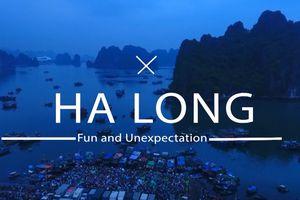 Video - Đến Hạ Long: Vi vu trên vịnh, trải nghiệm hệ trò chơi đa sắc m