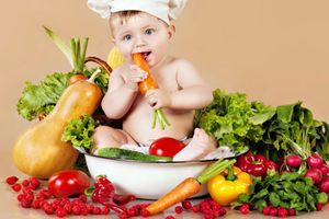 Dinh dưỡng cho trẻ bị còi xương
