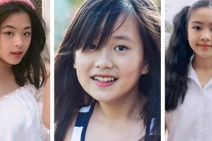 Ngỡ ngàng với nhan sắc ái nữ của dàn sao Việt, đều sắp thành mỹ nhân