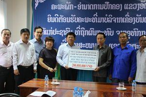 Các địa phương hỗ trợ Attapeu